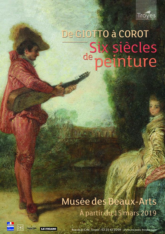 Journées du patrimoine 2020 - Collection permanente « De Giotto à Corot, six siècles de peinture »