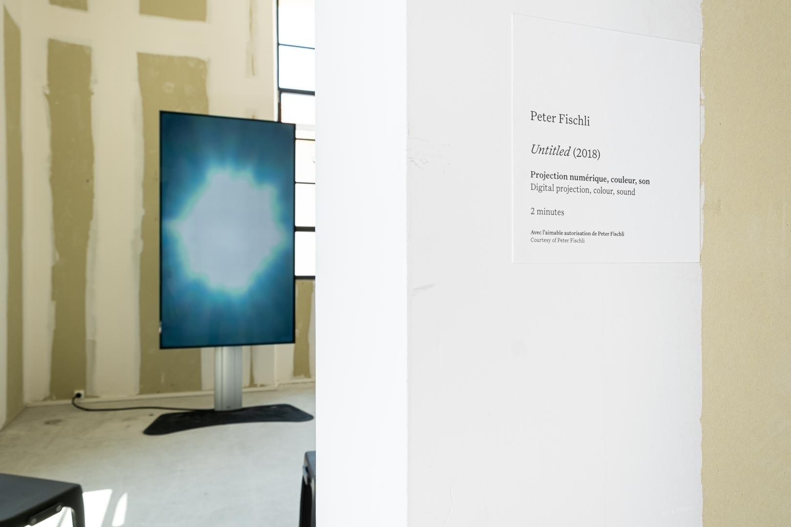 Le Cours des choses est l'une des œuvres les plus emblématiques créées par le duo. Pour la première fois en France, Luma présente une vidéo plus récente de Peter Fischli, antithèse de la précédente.