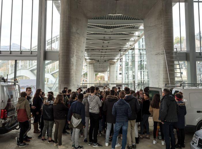 Journées du patrimoine 2019 - Chantier de la gare