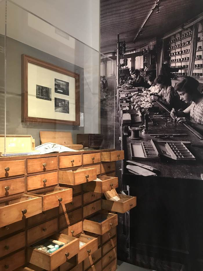 Journées du patrimoine 2019 - Visite de l'exposition « L'horlogerie dans ses murs – Lieux horlogers de Besançon et du Haut-Doubs »