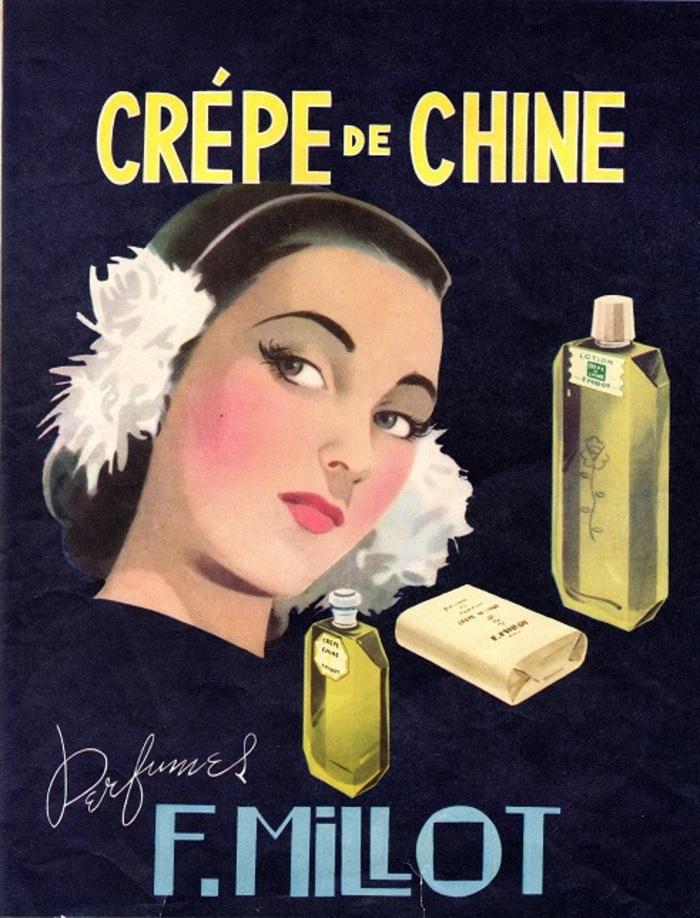 Journées du patrimoine 2019 - Visite guidée de l'exposition « F. Millot, Parfumeur : De l'Eau Magique à Crêpe de Chine, une histoire de famille »