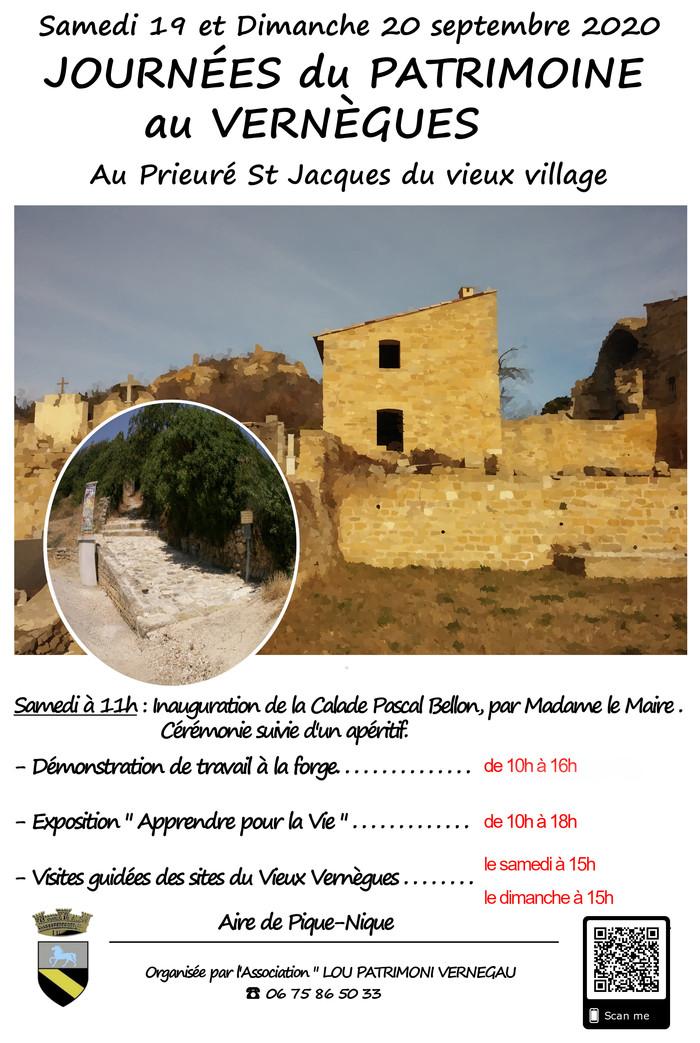 Journées du patrimoine 2020 - Annulé | Journées du Prieuré Saint Jacques
