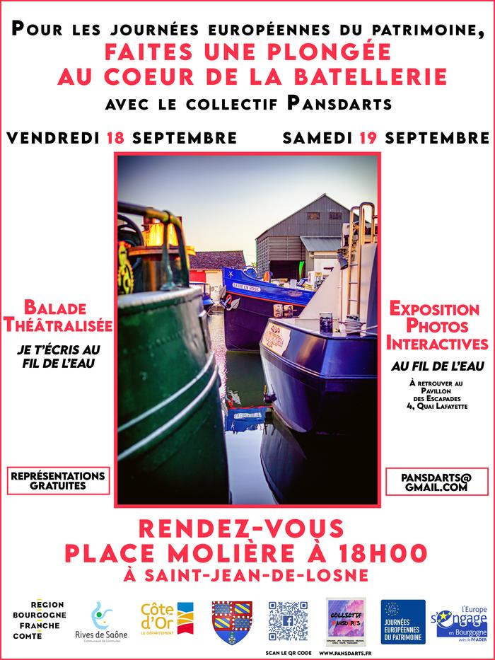 Journées du patrimoine 2020 - Balade théâtralisée et expositions photos