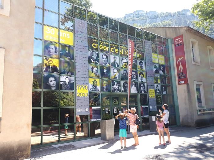 Journées du patrimoine 2020 - Visite flash du nouvel habillage de la façade des 30 ans du musée