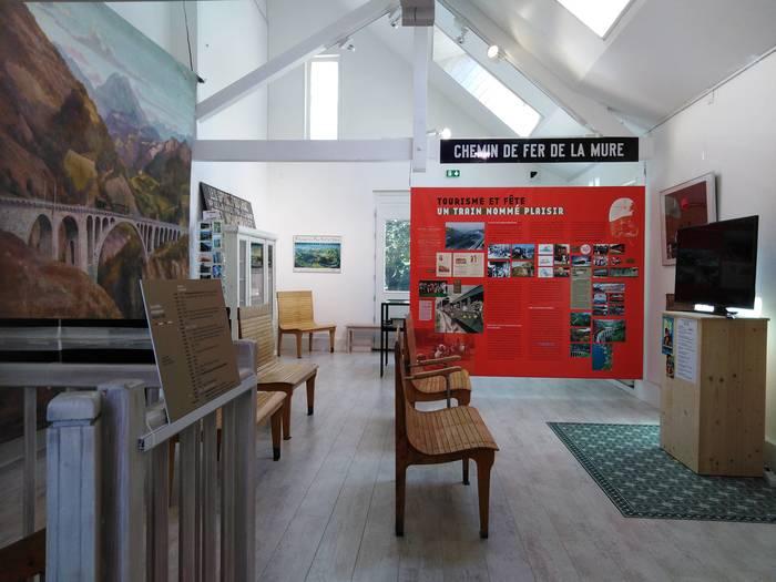 Journées du patrimoine 2020 - Panoramatheysine, images du Petit Train de La Mure