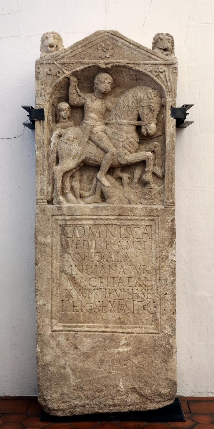 Journées du patrimoine 2019 - Inauguration du jardin funéraire gallo-romain et de la reconstitution de la stèle de Comnisca
