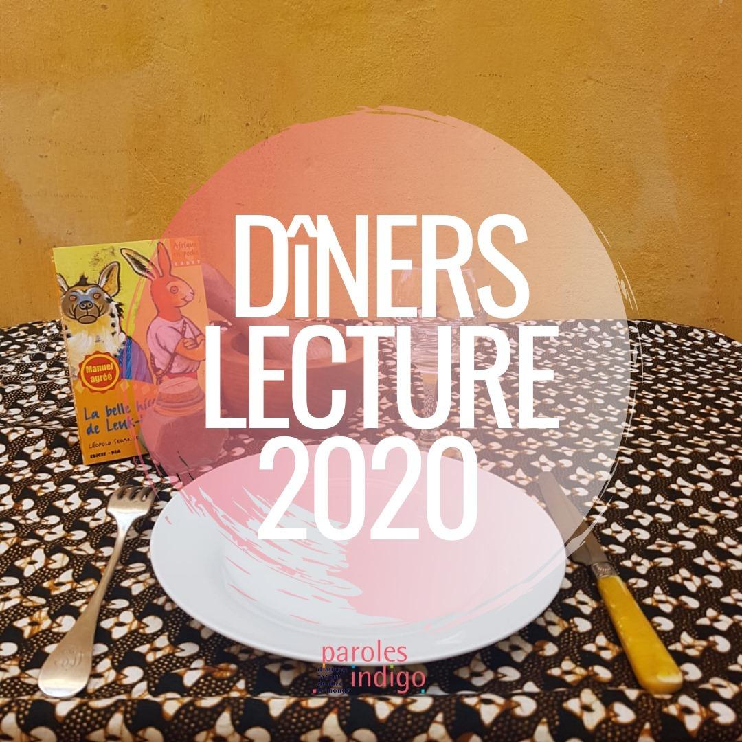 """""""Les dîners lecture itinérants de Paroles Indigo"""", un moment de rencontre et de partage qui propose une découverte de textes lus ou contés d'auteurs africains, suivie d'un bon repas."""
