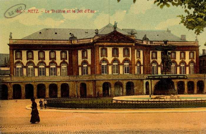 Journées du patrimoine 2019 - Opéra de Metz-Métropole : petites et grande histoires