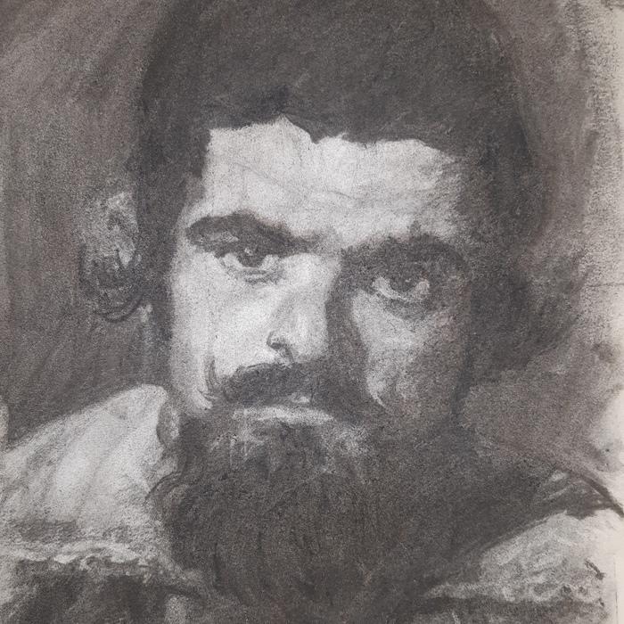 Masterclasse Portrait - Fusain