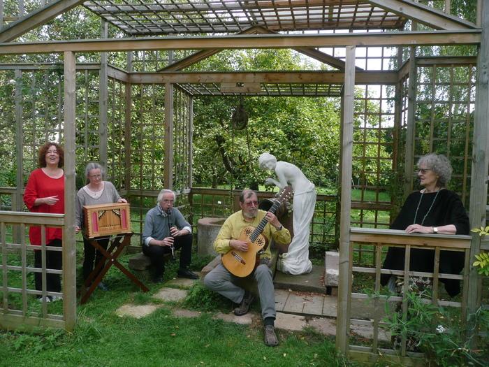 Journées du patrimoine 2020 - Fiati et Tapatou, ensemble ! Un temps musical pour les visiteurs d'Un jardin philosophe à Boersch