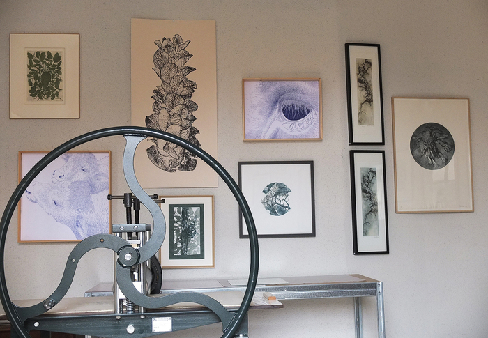 Journées du patrimoine 2020 - Visite de l'atelier de gravure Hélène Roux