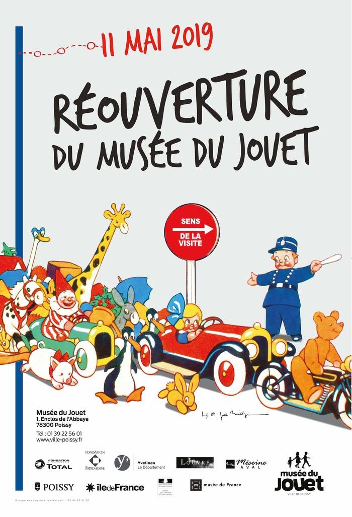 Journées du patrimoine 2019 - Visite libre des collections du Musée du Jouet