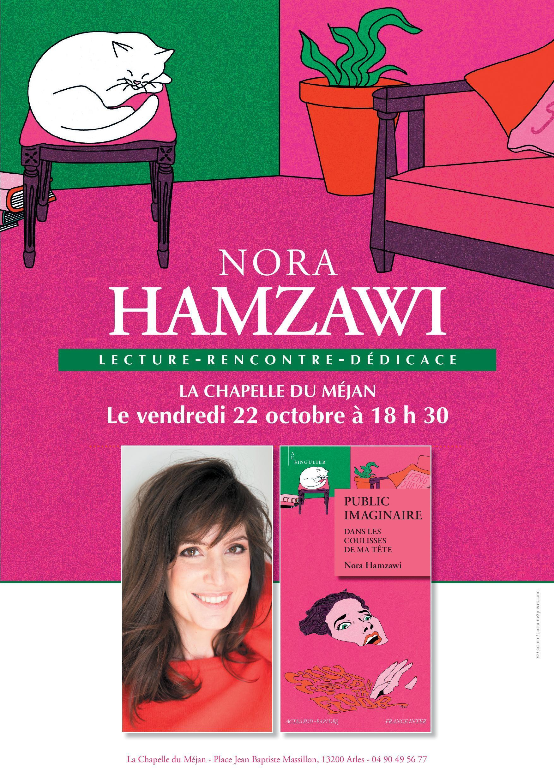 Lecture spectacle et dédicace avec Nora Hamzawi
