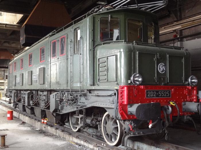 Journées du patrimoine 2019 - Visite de la locomotive 2D2 5525 et de l'ancien dépôt des locomotives à vapeur de Paris-Ivry