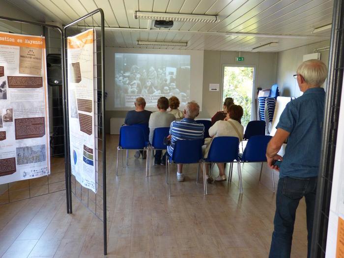 Journées du patrimoine 2019 - Projection vidéo de témoignages de Déportés de la Mayenne