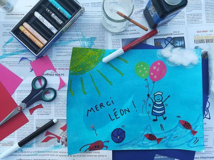 Journées du patrimoine 2019 - Atelier création de cartes postales