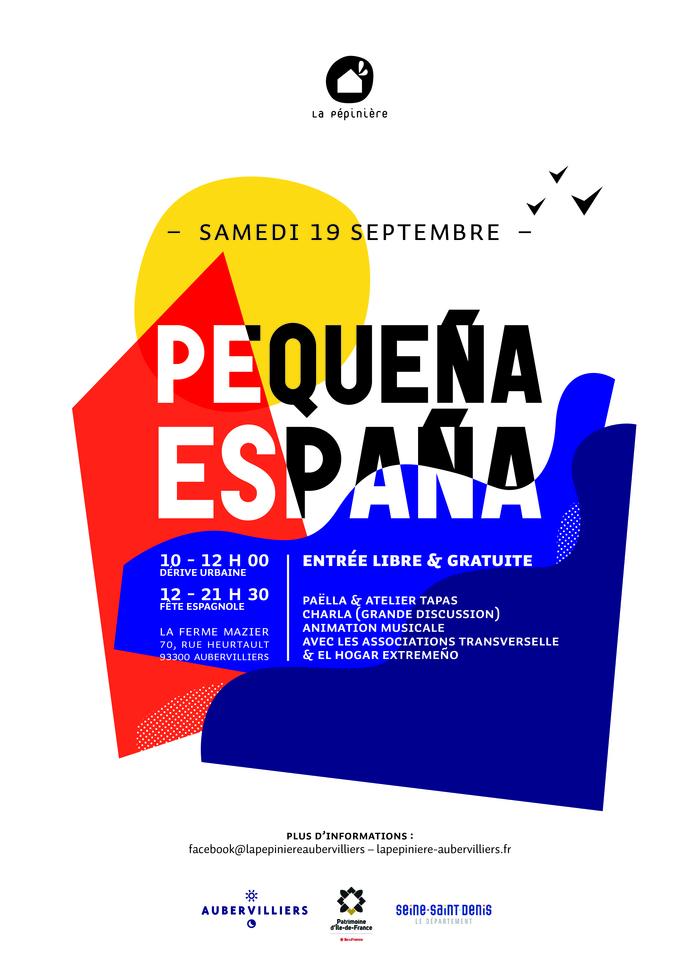 Journées du patrimoine 2020 - Pequeña España - Journée espagnole organisée par l'association La pépinière à la Ferme Mazier
