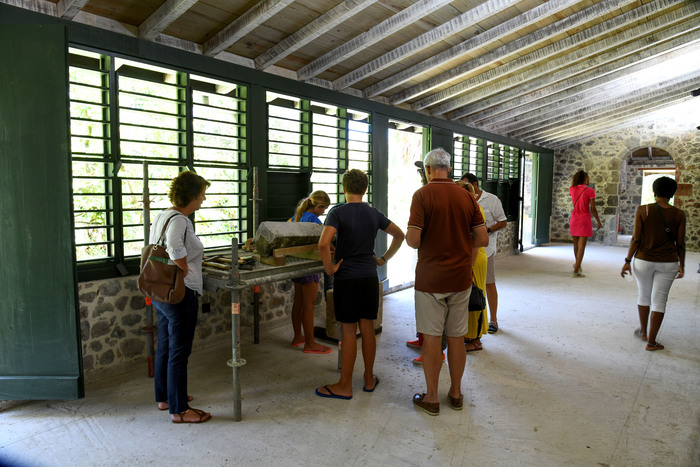 Journées du patrimoine 2019 - Macouba / Habitation Bellevue / Maçonnerie traditionnelle / atelier