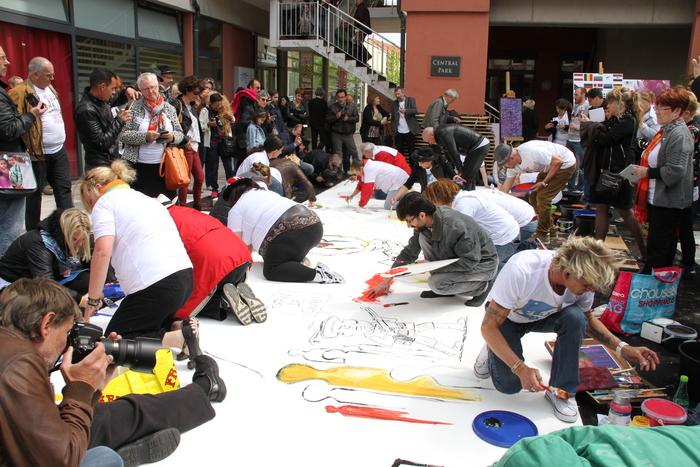 Journées du patrimoine 2019 - Fresque participative