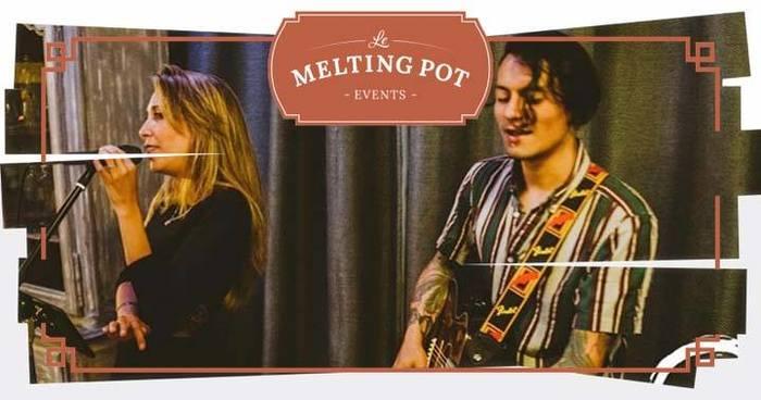 Les soirées Live du Melting Pot : Jazzy Pop Duo