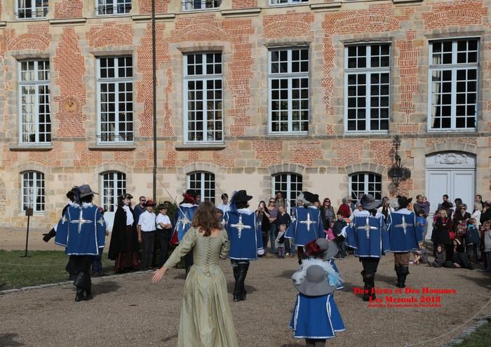 Journées du patrimoine 2019 - Gourmandises au château des Mesnuls - Visites du corps principal du château