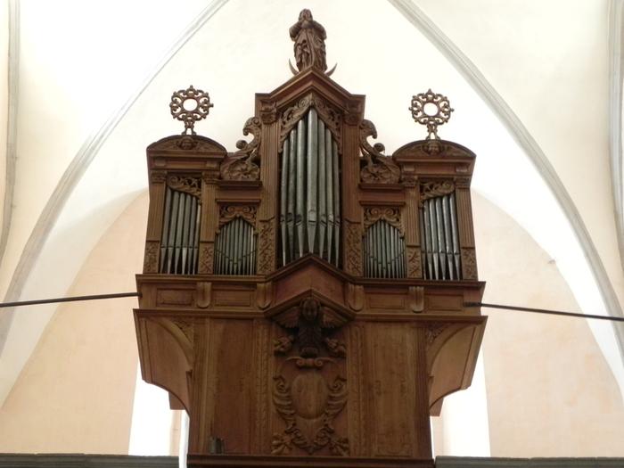 Journées du patrimoine 2019 - Visite commentée de l'orgue historique d'Orgelet