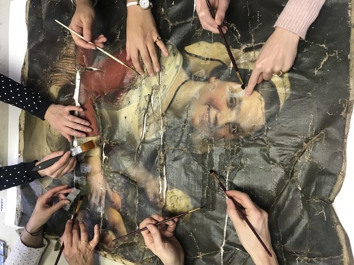 Journées du patrimoine 2019 - ATPFormation - Centre de formation professionnel en Restauration de tableaux et d'Objets d'Art fête ses 20 ans au Viaduc des Arts