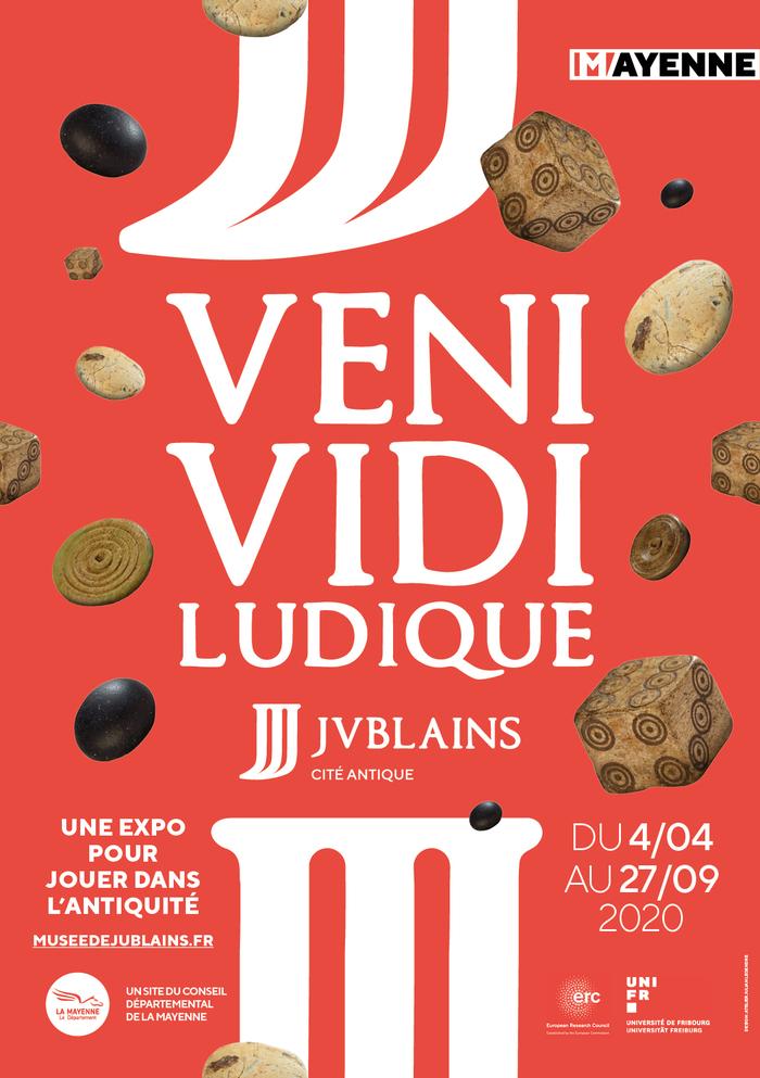 Journées du patrimoine 2020 - Visite guidée de l'exposition temporaire Veni, vidi, ludique