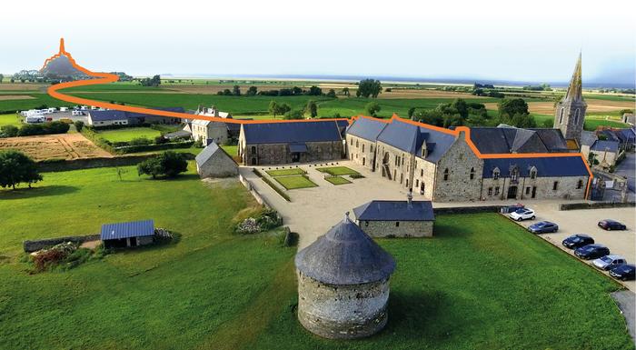 Journées du patrimoine 2019 - Visite guidée du prieuré du Mont-Saint-Michel