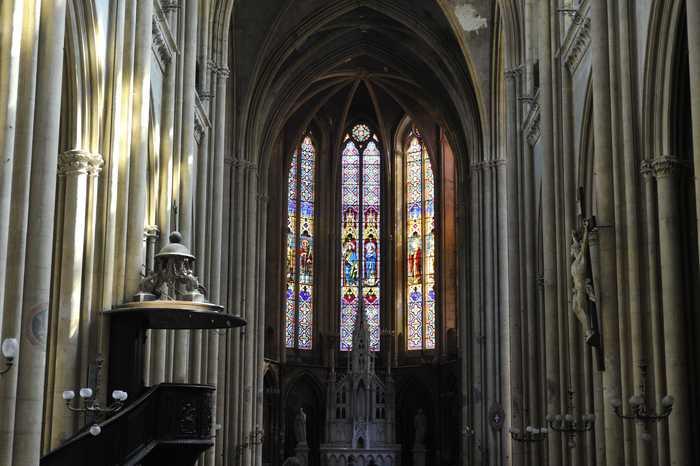 Journées du patrimoine 2020 - Visite libre de la basilique Saint-Vincent