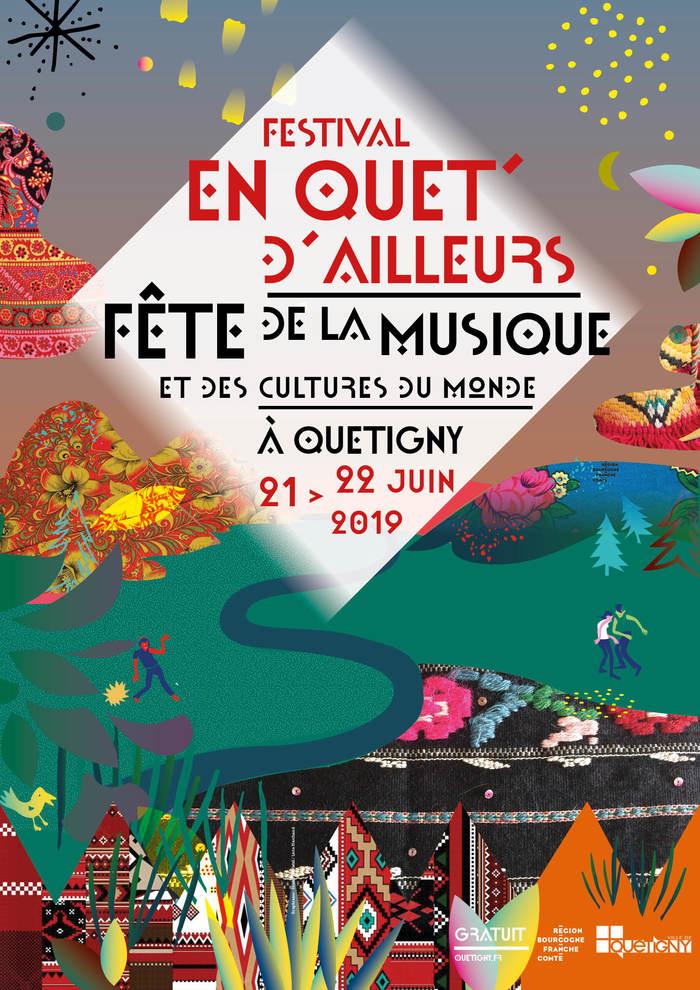 Fête de la musique 2019 - Festival En Quet'd'ailleurs
