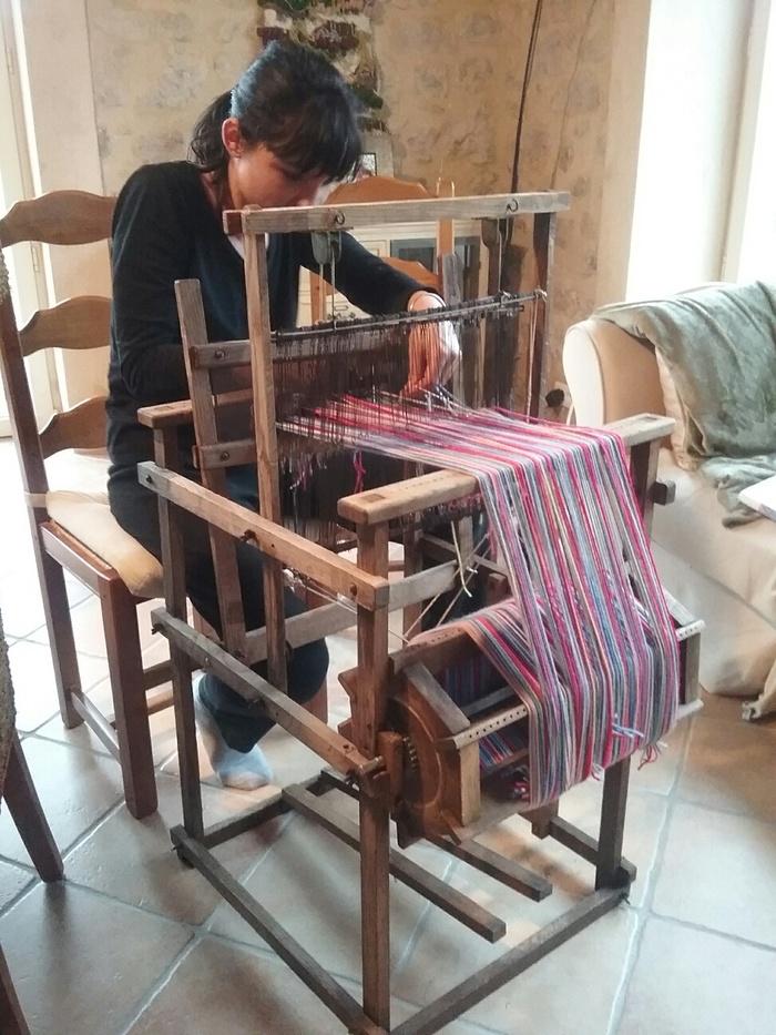 Journées du patrimoine 2020 - Atelier pour les enfants, de tissage amérindien dans une case créole traditionnelle