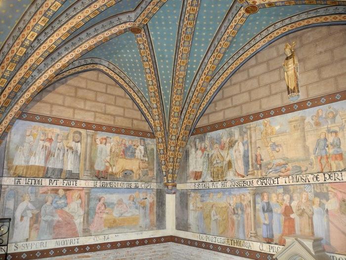 Journées du patrimoine 2019 - Restauration des peintures murales du XVIe siècle