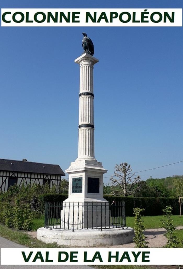 Journées du patrimoine 2019 - Visite guidée présentation de la colonne Napoléon du Val de la Haye