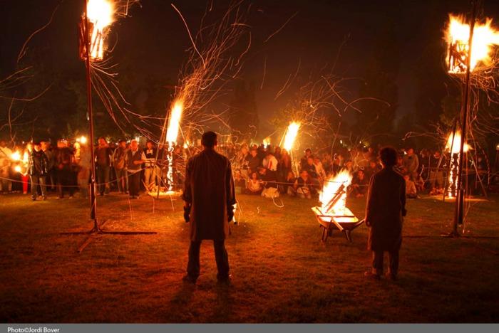 Nuit des musées 2019 -Incandescence au parc de Saint-Ferréol