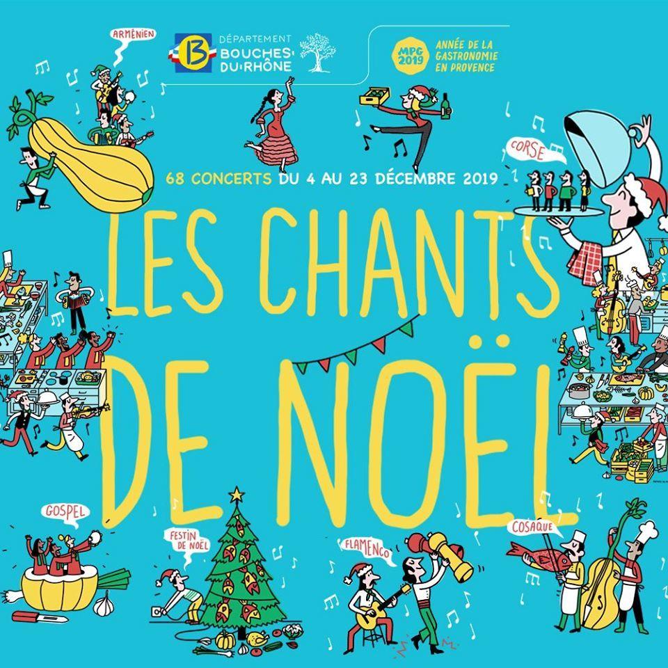 Concert organisé dans le cadre de la tournée des Chants de Noël du département des Bouches-du-Rhône