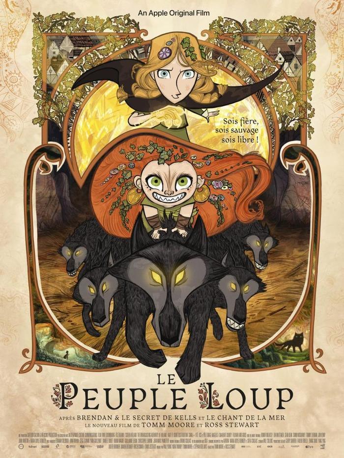 CINÉMOBILE : Le Peuple Loup - le film à Courville-sur-Eure mercredi 10/11 à 15h30
