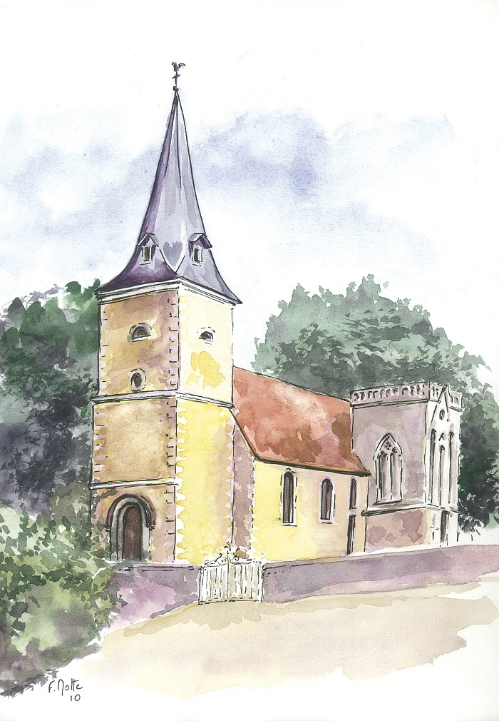 Journées du patrimoine 2019 - Visite guidée de l'église d'Aunay-les-Bois