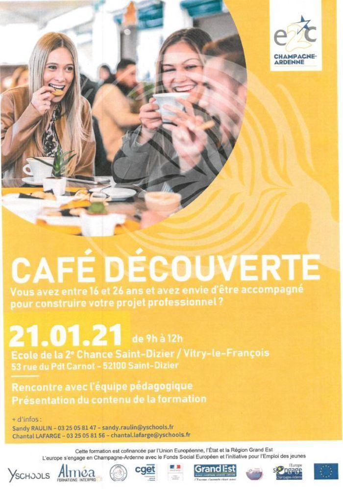 Café découverte du 21 janvier 2021