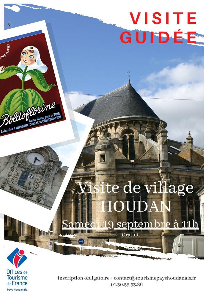 Journées du patrimoine 2020 - Annulé | Visite guidée de Houdan