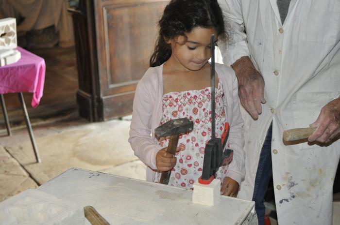 Journées du patrimoine 2020 - Atelier de sculpture sur pierre