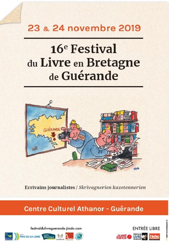 Le Festival a choisi pour sa 16ème édition le thème « Ecrivains-journalistes » et souhaite permettre au plus grand nombre de public de rencontrer ceux qui font ou qui ont fait l'actualité des médi...