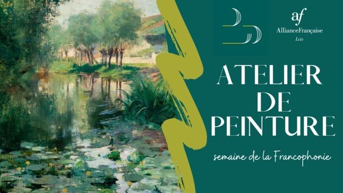 Atelier de peinture où on peut copier l'œuvre de n'importe lequel peintre du monde francophone