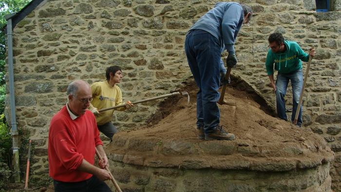 Journées du patrimoine 2020 - Démonstration de savoir-faire : restauration d'un dôme de four à pain