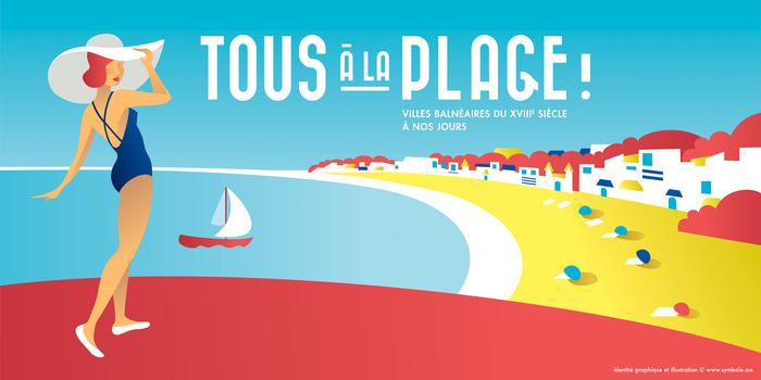 Journées du patrimoine 2019 - Visite guidée de l'exposition Tous à la plage !