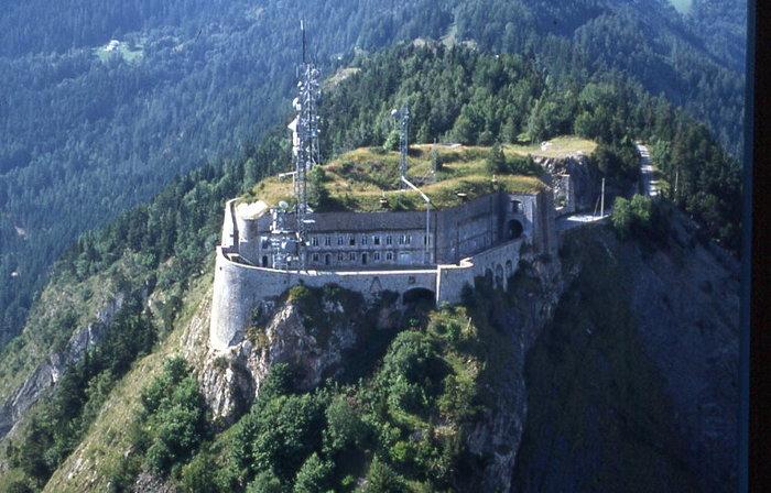 Journées du patrimoine 2019 - Visites commentées du fort du Télégraphe, spectaculaire belvédère sur la Maurienne