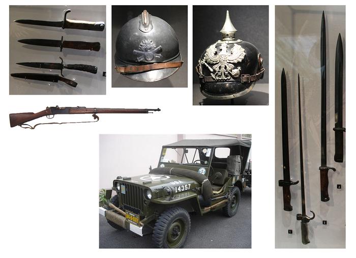 Journées du patrimoine 2019 - Exposition concernant les guerres 1870-71, 1914-18, 1939-45