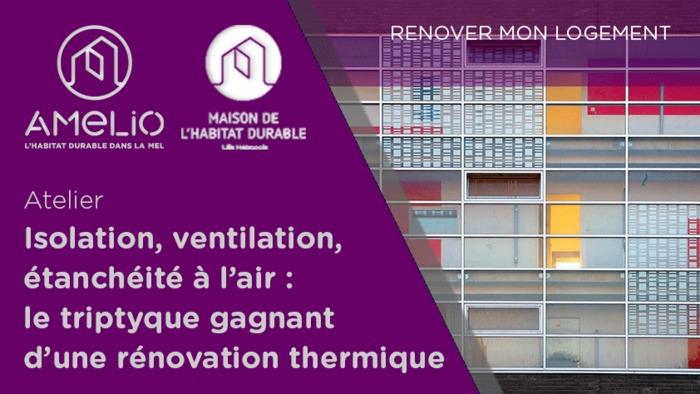 Isolation, ventilation, étanchéité à l'air : le triptyque gagnant d'une rénovation thermique
