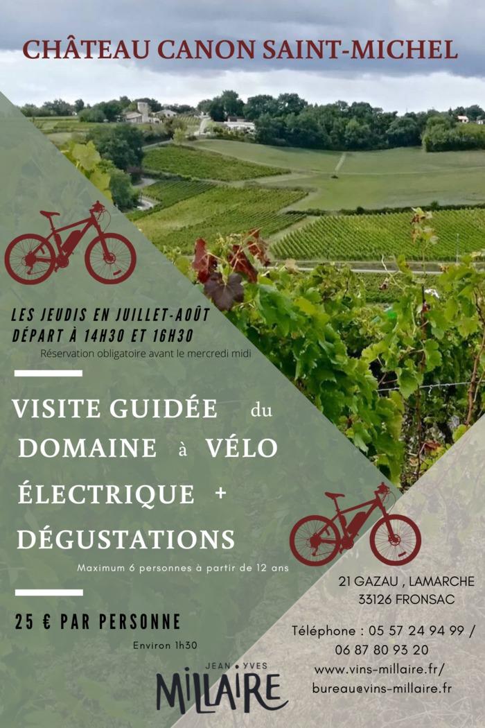 balade guidée à vélo éléctrique