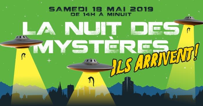Nuit des musées 2019 -La Nuit des Mystères - Ils arrivent !